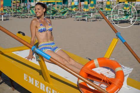 Giulia Calefato - Beach fitness
