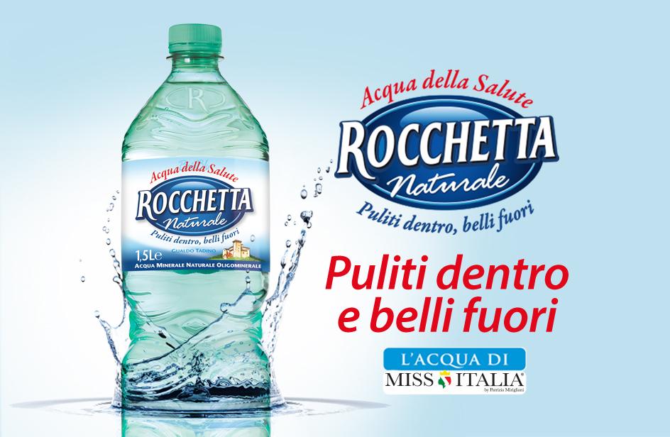 Acqua Minerale Naturale Rocchetta e Miss Italia 2017