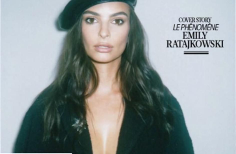 Emily Ratajkowski rimprovera un magazine per averle photoshoppato seno e labbra