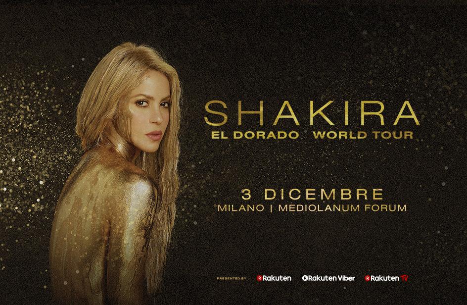 Shakira vinci con Tutti Pazzi per RDS