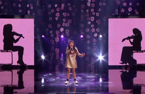 Angelica di nome e di voce, la bimba di 9 anni che incanta agli America's Got Talent