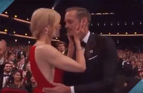 """Nicole Kidman e il bacio """"intenso"""" al collega Skarsgård"""