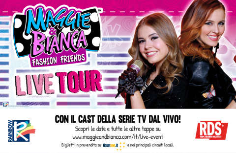 Maggie & Bianca Fashion Friends Tour