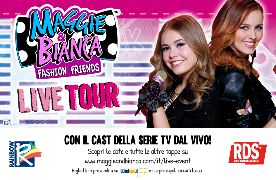 Maggie & Bianca Fashion Friends Tour