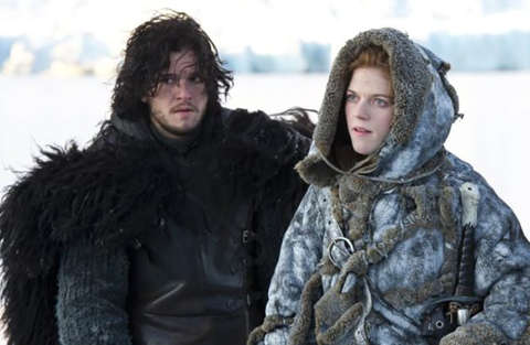 Pausa per le riprese dell'8° stagione di Game of Thrones per il matrimonio di Harington e Leslie