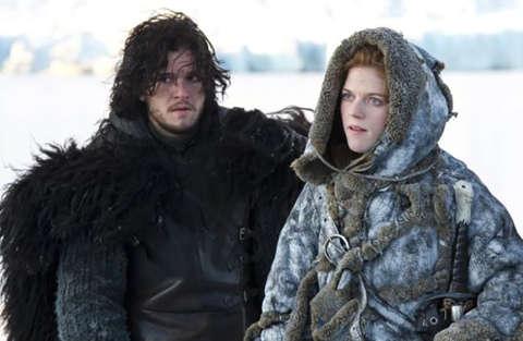 Pausa per le riprese dell'8° stagione di Game of Thrones per il matrimonio di Harington e Leslie