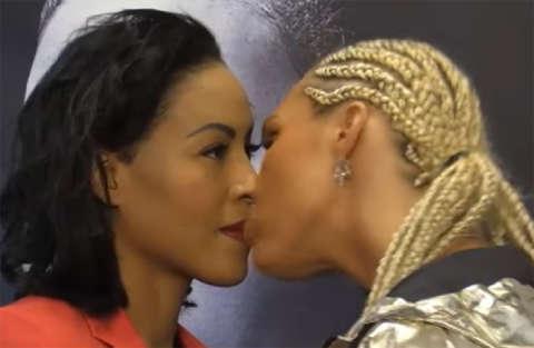 Boxe femminile: la rissa dal nord comincia da un bacio rubato, ma la reazione...