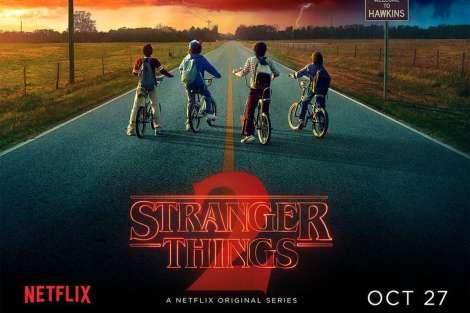 Stranger Things 2: conto alla rovescia finito. Da oggi su Netflix