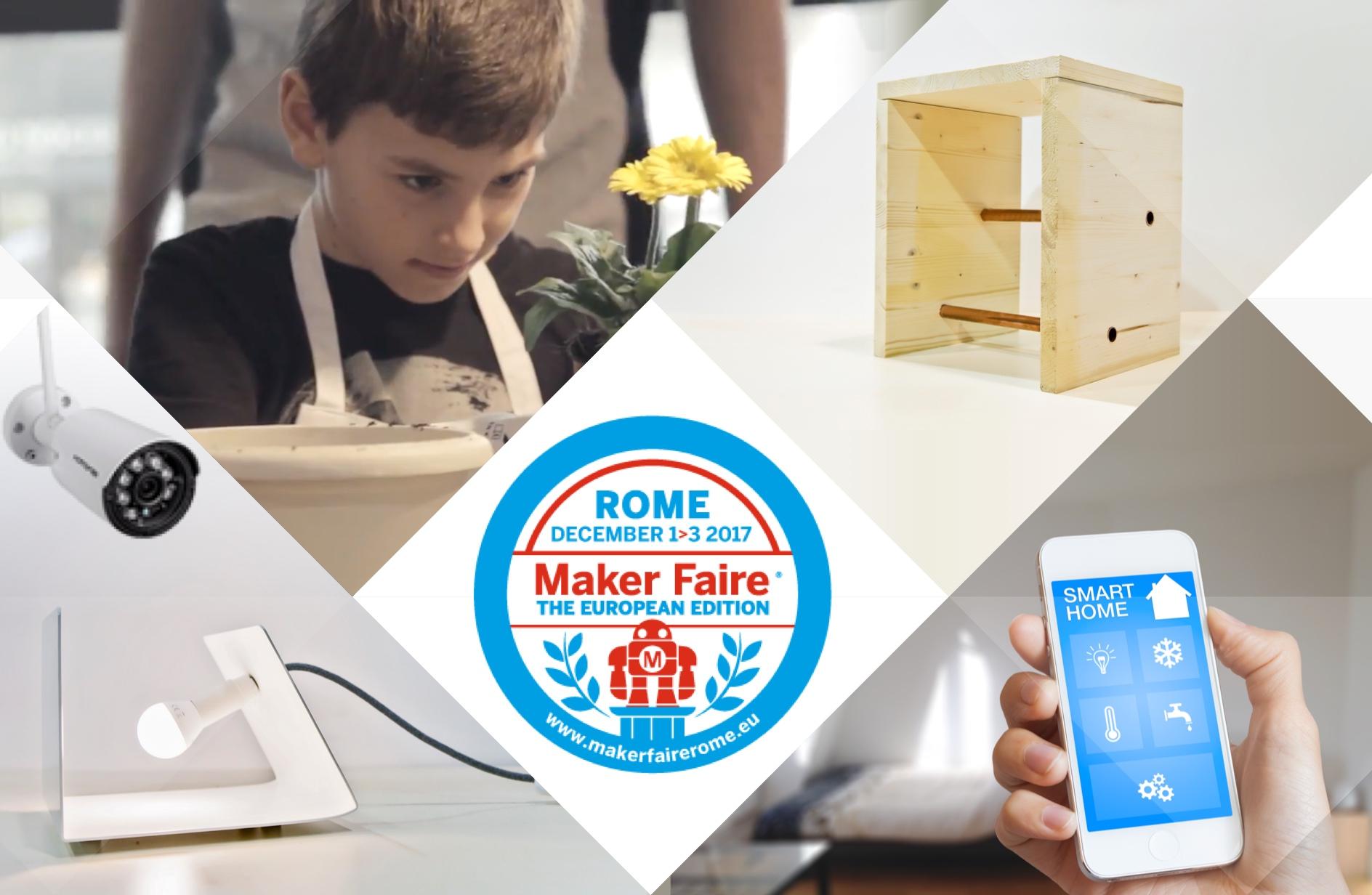 Leroy Merlin vi invita alla Maker Faire