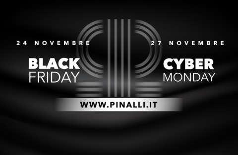 Il Black Friday è valido venerdì 24 Novembre in tutti i punti vendita e sullo store
