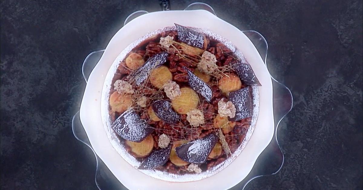 Crostata noci, cioccolato e caramello - Iginio Massari The Sweetman