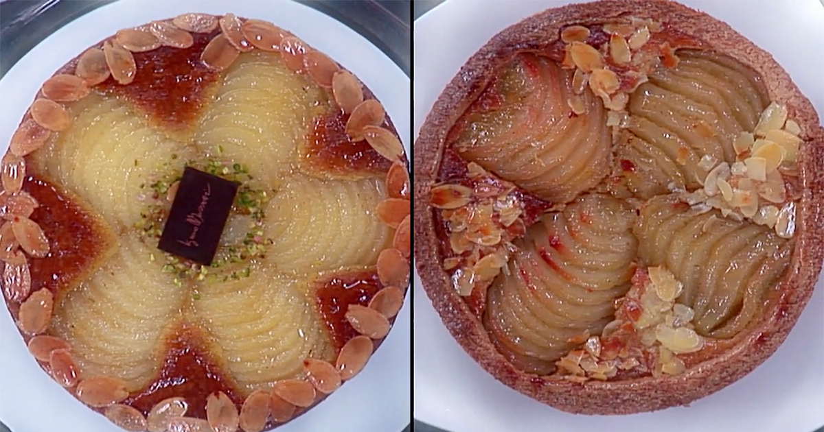 Torta Bourdaloue - Iginio Massari The Sweetman