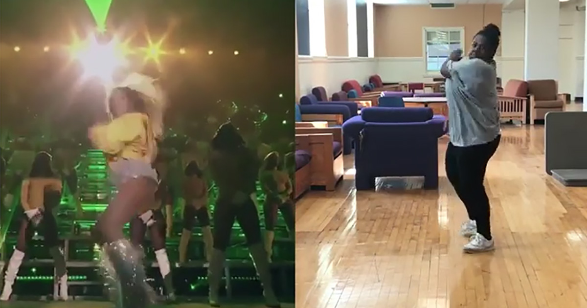 Coachella, Brianna balla come Beyoncé, la coreografia è perfetta