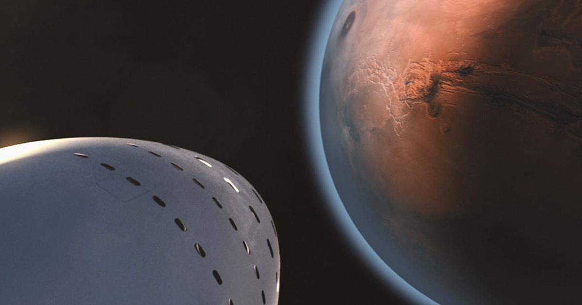 Marte: spunta la foto a colori del pianeta a distanza ravvicinata