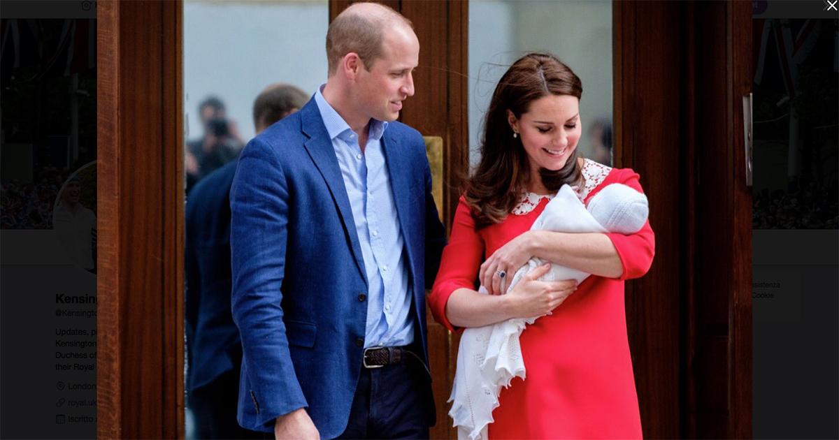 E nome fu: il terzo Royal Baby si chiama Louis Arthur Charles