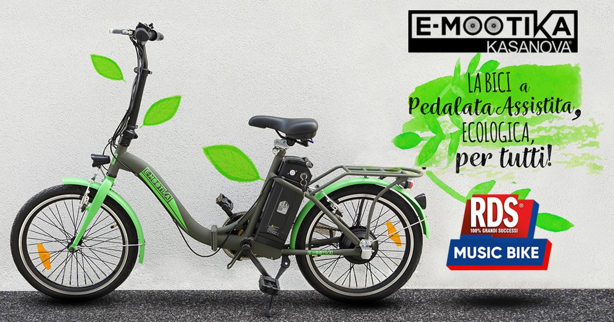 E Mootika Bicicletta Con Pedalata Assistita Rds 100 Grandi Successi