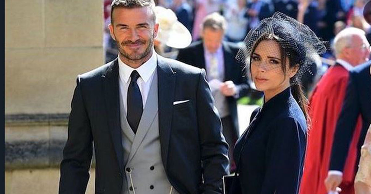 David Beckham e Victoria daranno in beneficenza i vestiti del Royal Wedding