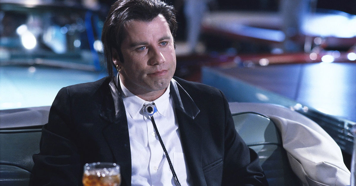 John Travolta il balletto come in Pulp Fiction a Cannes