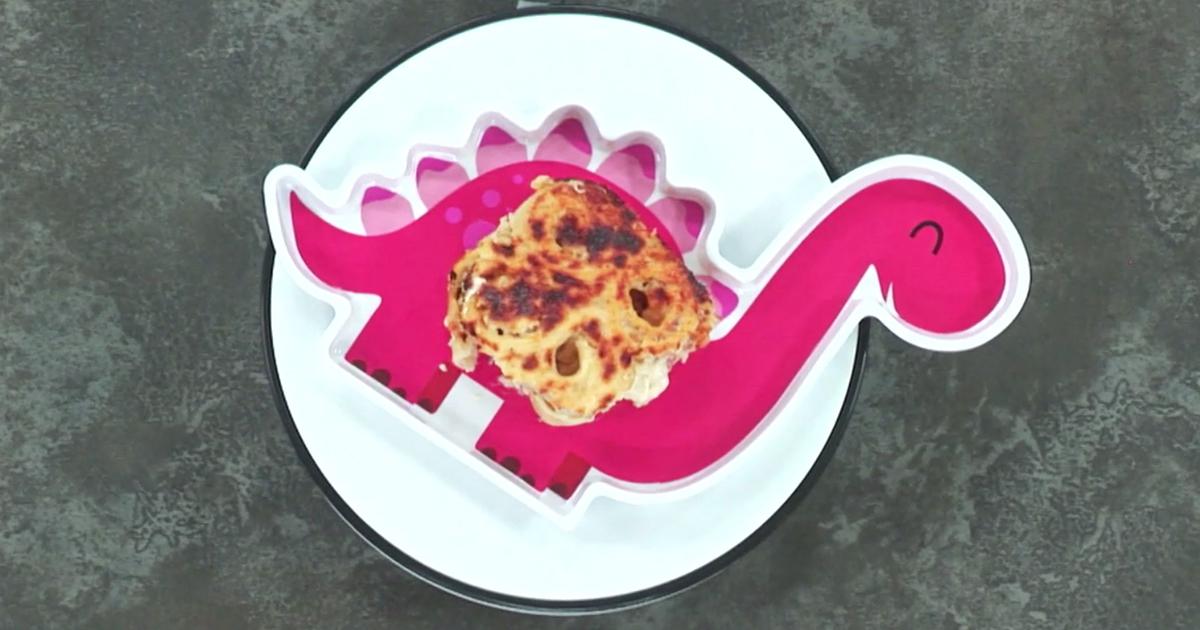Rosette prosciutto spinaci e formaggio - Alessandro Borghese Kitchen Sound Kids