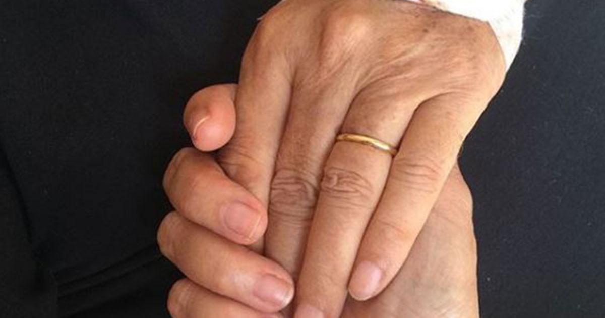 'Tutto bene amore mio': Mara Venier e il messaggio accanto al marito