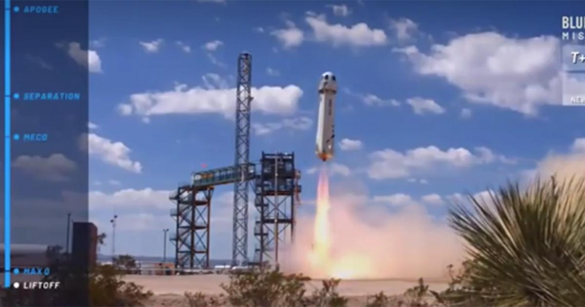 Blue Origin, ecco il nuovo test suborbitale per i turisti spaziali