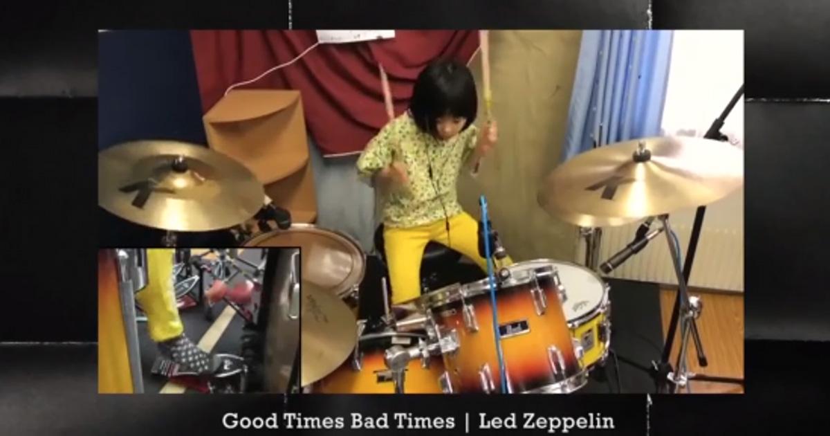 A 8 anni suona un pezzo dei Led Zeppelin e Robert Plant rimane sbalordito