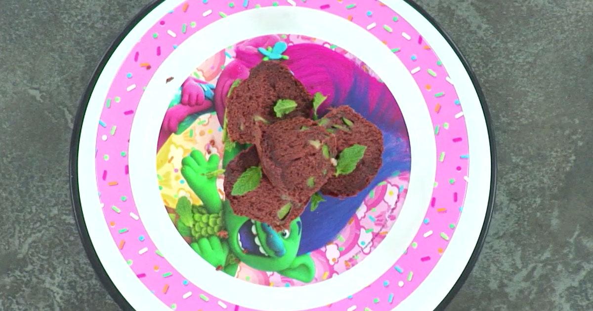 Muffin al cioccolato con zucchine - Alessandro Borghese Kitchen Sound Kids