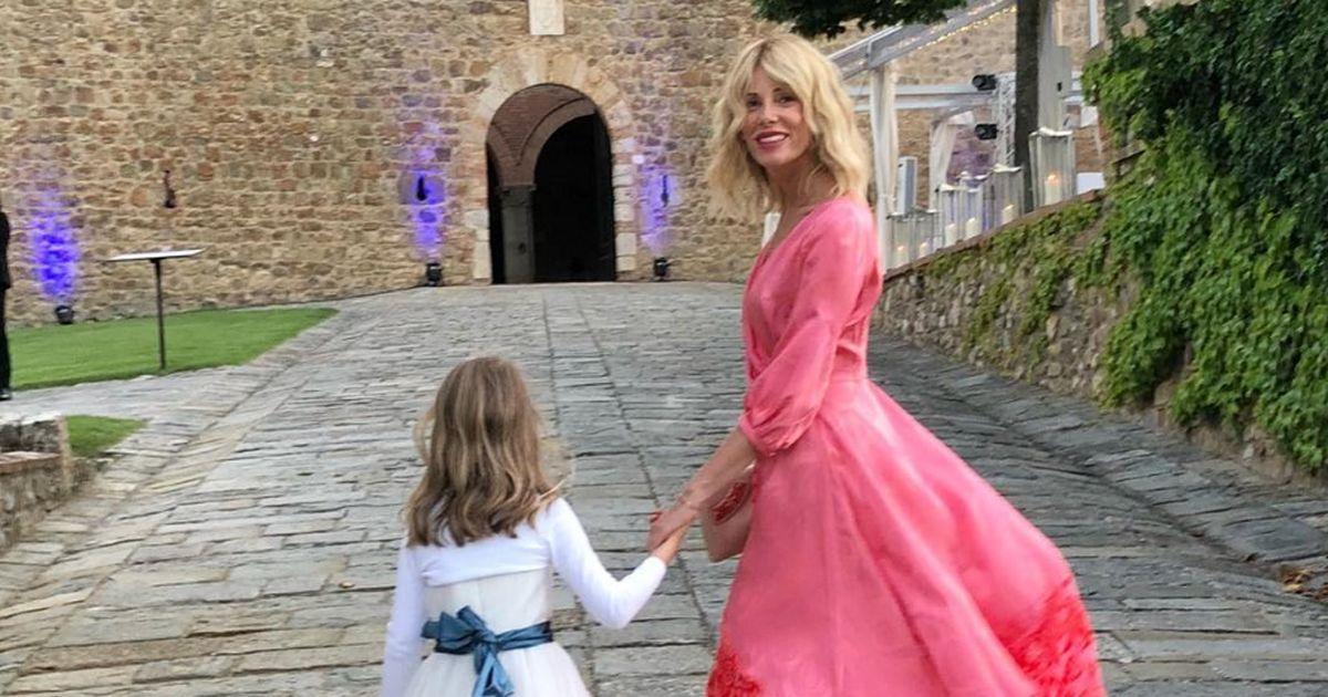 Alessia Marcuzzi, testimone al matrimonio dell'ex