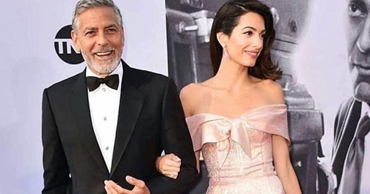 Amal e la perfetta dedica d'amore a George Clooney