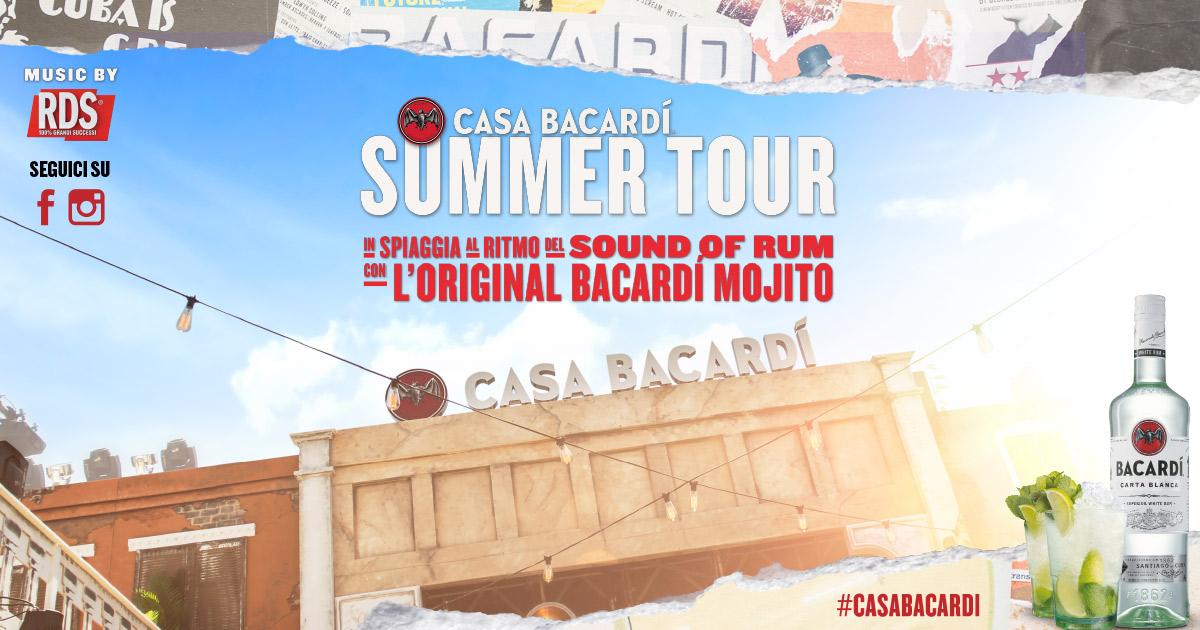 Casa Bacardi Summer Tour 2018