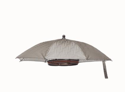 Colpo di genio  ecco il cappello-ombrello prodotto da Fendi  44d85b4047d4