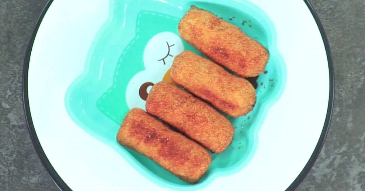 Crocchette di legumi - Alessandro Borghese Kitchen Sound Kids