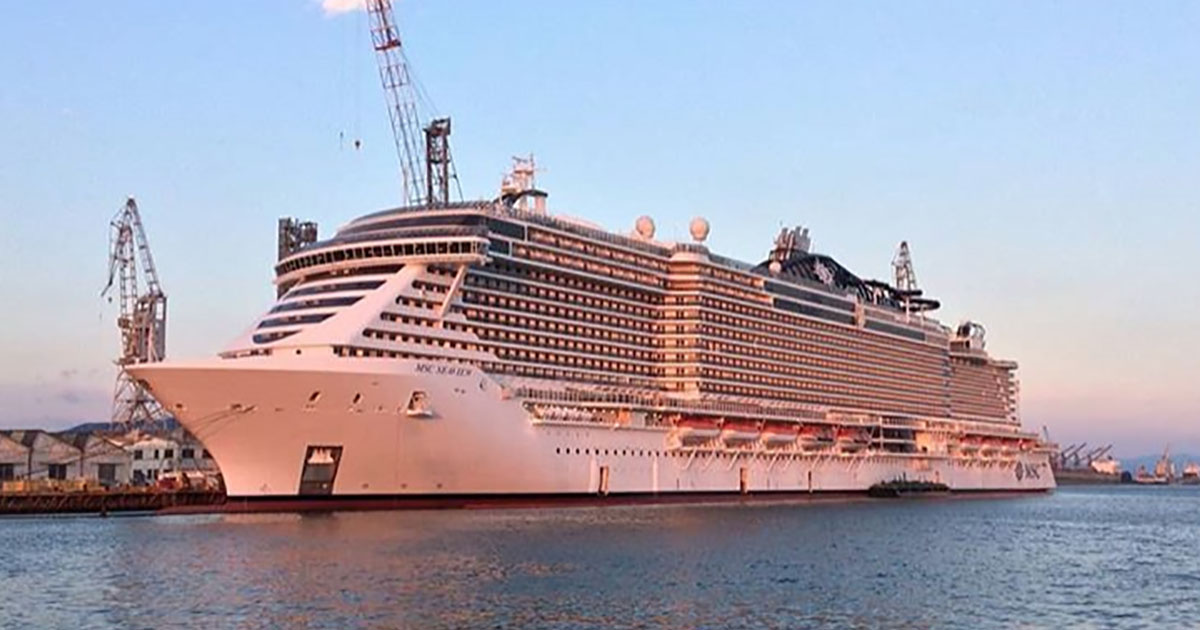 Svelata la MSC Seaview, la più grande nave da crociera mai costruita in Italia