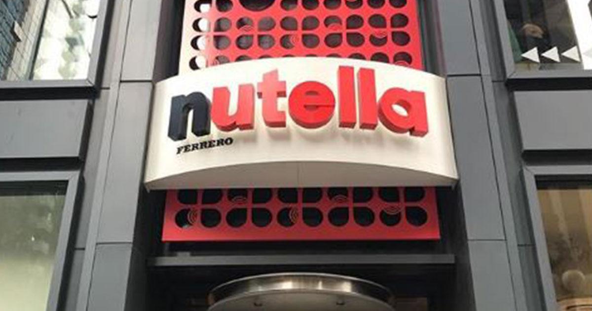 New York: apertura del Nutella Cafè