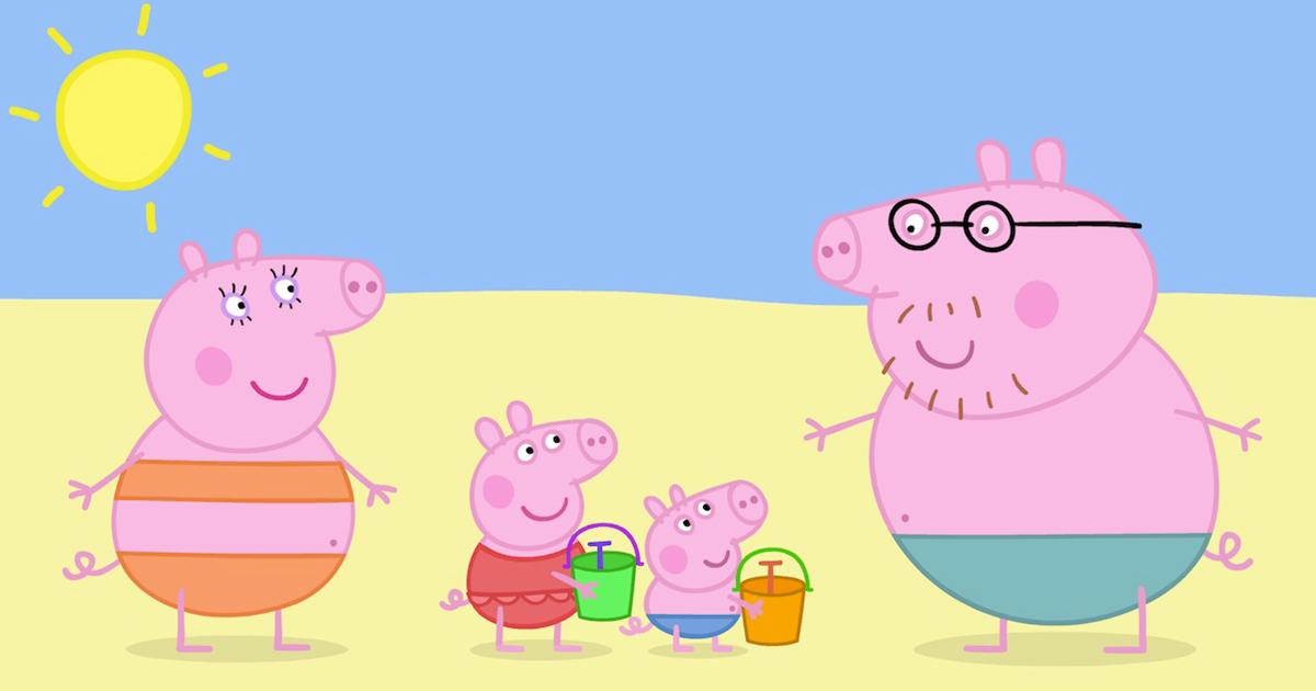 Peppa Pig e il mare: le regole per rispettarlo e mantenerlo pulito e sicuro