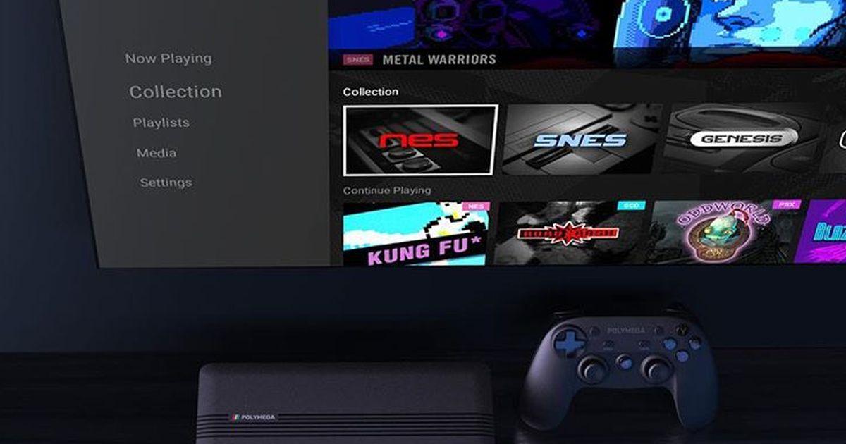 La console creata apposta per poter giocare a tutti i vecchi giochi