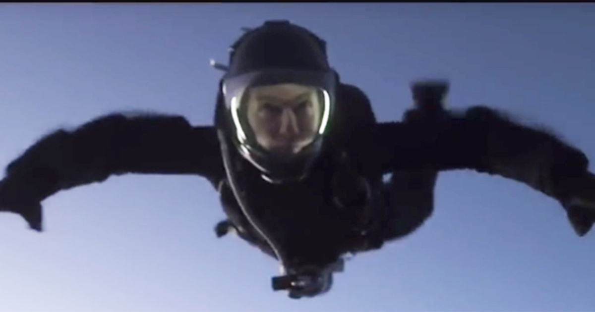 La vera Mission Impossible di Tom Cruise: Halo Jump da 7000 metri