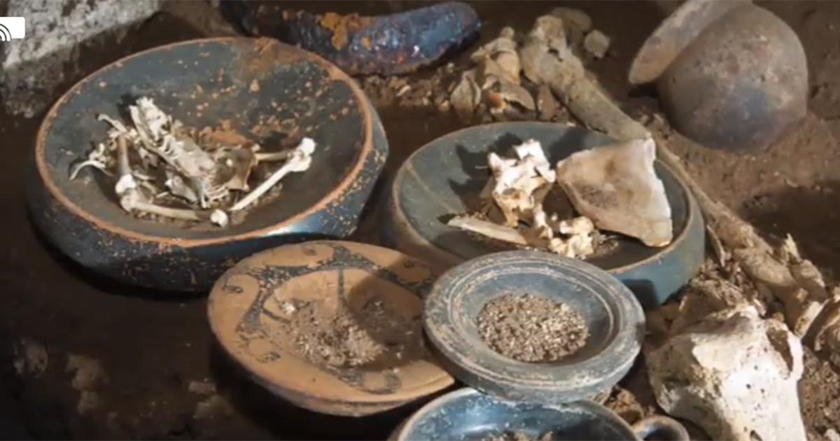 Archeologia, ecco la Tomba dell'Atleta scoperta a Case Rosse a Roma