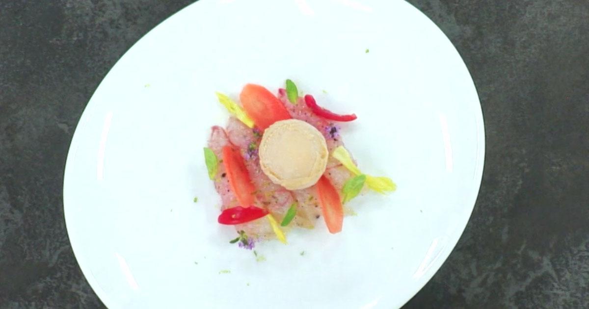 Sorbetto all'arancia e amaro d'erbe con scambi - Alessandro Borghese Kitchen Sound Ice Cream