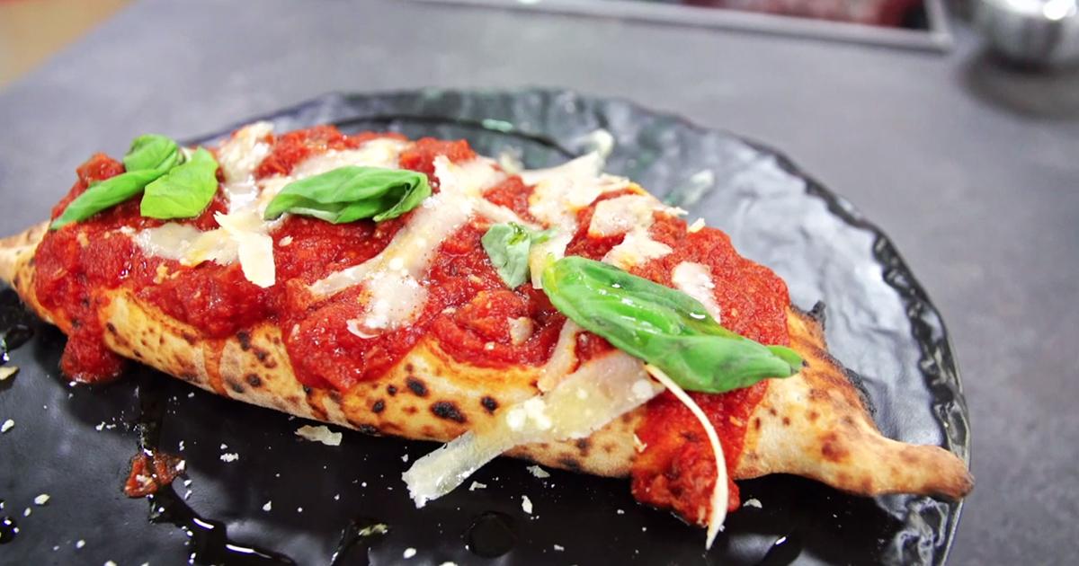 Pizza con ragù napoletano - Alessandro Borghese Kitchen Sound Pizza