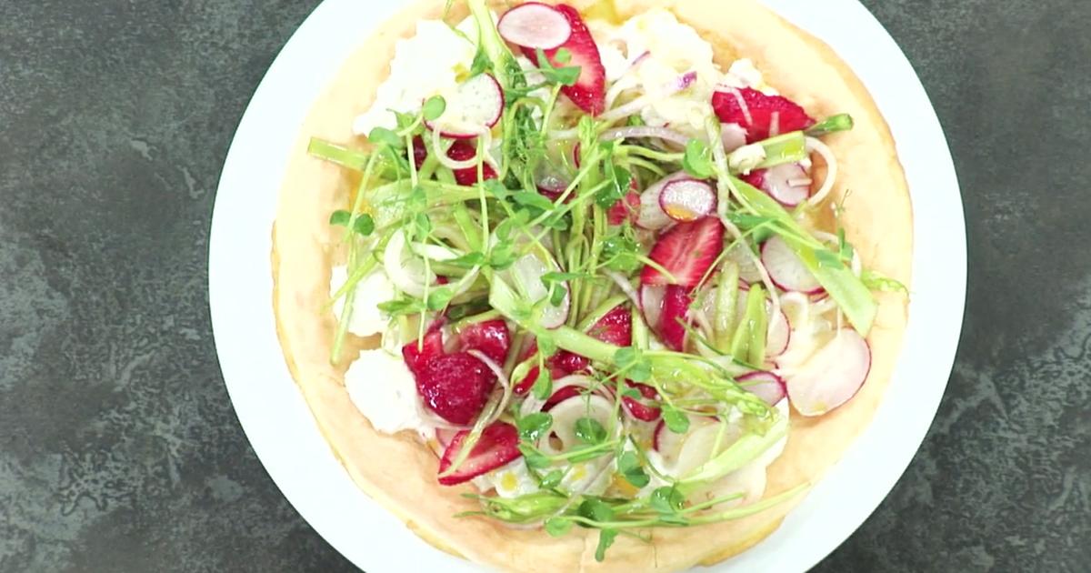 Pizza senza glutine - Alessandro Borghese Kitchen Sound Pizza