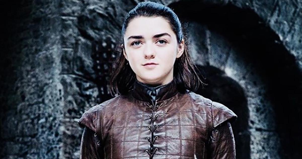 Arya Stark di Game of Thrones: addio con spoiler