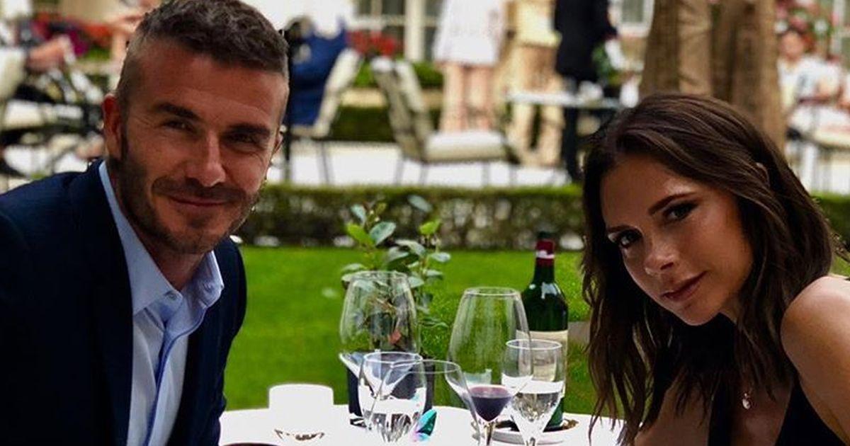 I Beckham brindano ai 19 anni di matrimonio