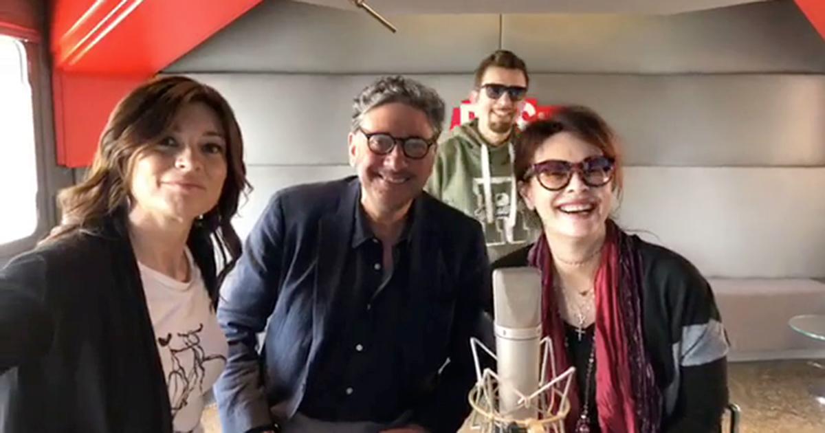 Claudio Guerrini e Roberta Lanfranchi con Sergio Castellitto ed Elena Sofia Ricci