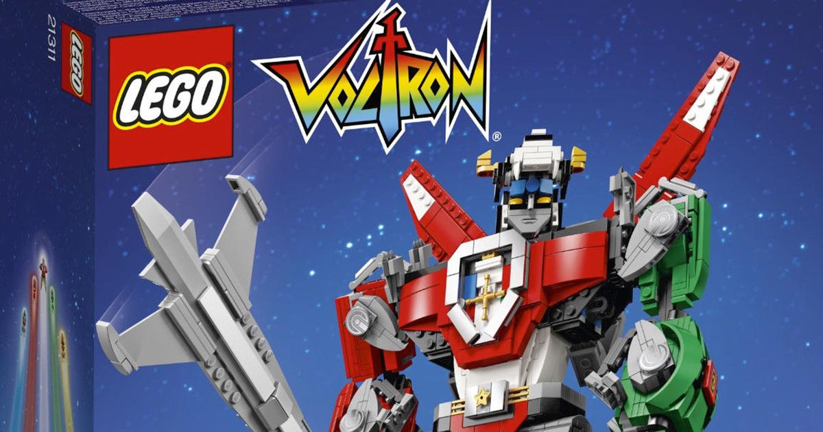 Voltron: i cinque leoni robot anni 80 diventano una creazione Lego!