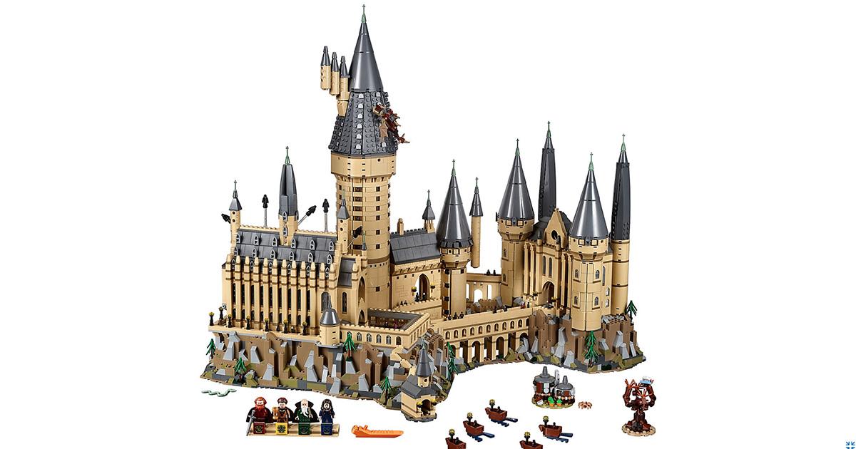 Lego: arriva il castello di Hogwarts (integrale) da 6020 pezzi