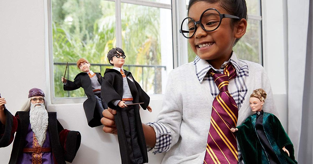 Harry Potter: in vendita da Mattel le 'barbie' ufficiali della saga