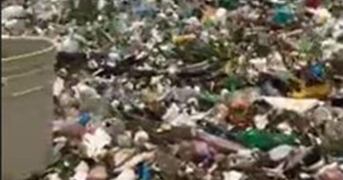 Un mare di plastica: le immagini di Santo Domingo fanno il giro del mondo