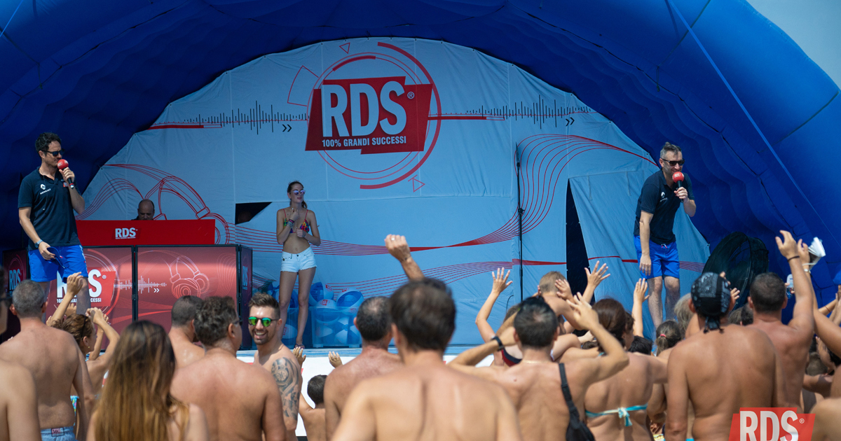 Porto San Giorgio - RDS Play on Tour 2018