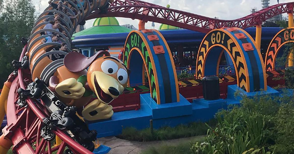 Il parco di divertimenti è la copia di un film favoloso: Toy Story